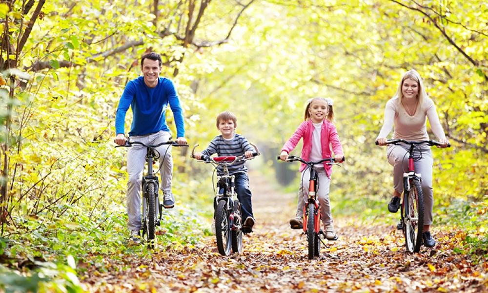 famiglia-in-bici